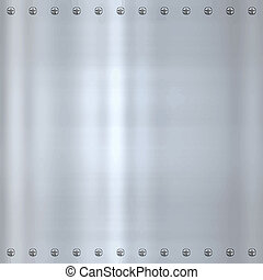 steel alloy metal background - great shiny alloy or steel...