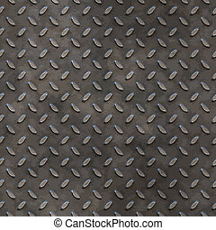 worn tread plate - a large image of worn and dirty tread...