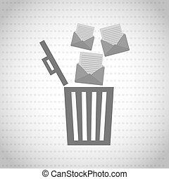 email concept design - email concept design, vector...