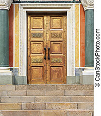 Door to God Conceptual design Religion theme
