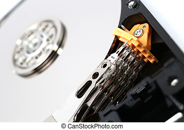 Inside Hard Disk Drive (HDD)-Computer Hardware Components...