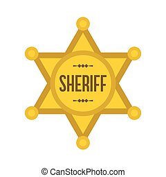 Sheriff star icon