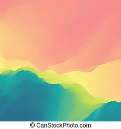 Colorful Abstract Background. Design Template. Modern...