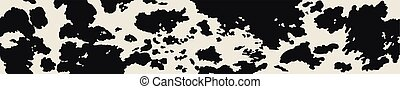 Background with Cow skin