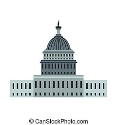 Vectors Illustration of The White House In Washington, D.C. - The ...