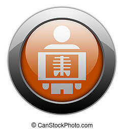 Icon, Button, Pictogram X-Ray - Icon, Button, Pictogram with...