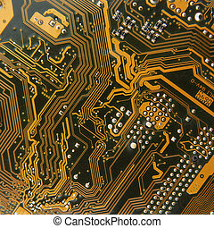 Computer circuit technology background - a Computer circuit...