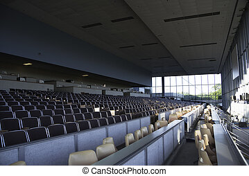 Seating at Racetrack