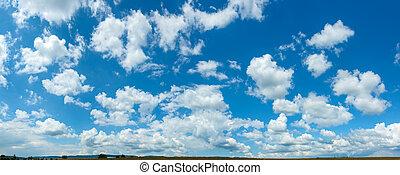 全景, 天空