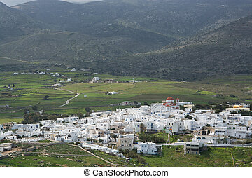 Marpissa, Paros, Greece - Parikia is a city in the Cyclades...