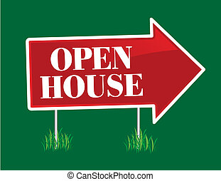 Open House Arrow