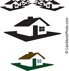 House Logo and Header Ready for your Text and Color