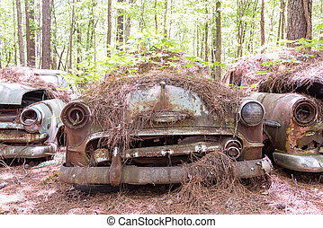 Pinestraw Covered Chevy - DETROIT, MICHIGAN - May 11, 2015:...