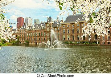 HAGUE, países bajos, Parlamento, holandés