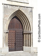 Old door of St Nicholas Church - Old door of St Nicholas...
