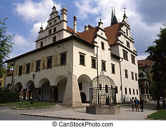 Town Hall, Levoca - Medieval Town Hall in Levoca, Slovakia