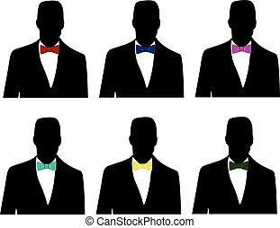 領帶, 弓