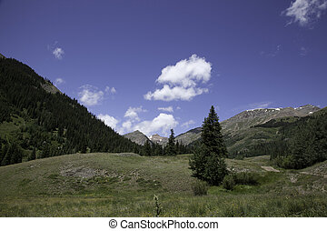 Sangre De Cristo Mountains - A view from among the Sangre De...