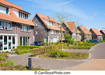Residential district - Residential district in Nijkerk, the...