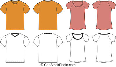 White, Pink, Orange T-shirt design