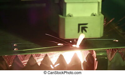 laser welding. plasma metal cutting