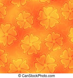 Seamless flower backdrop