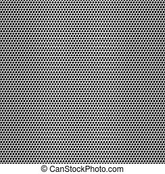 Perforated metal seamless background - Texture pattern for...