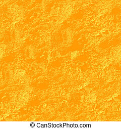 Yellow stucco seamless background - Texture pattern for...