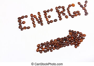 the energy of coffee beans