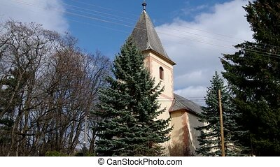 Gothic church in Betliar, Roznva, S - Roman Catholic Church...