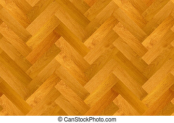 Wood parquet surface - Herring-bone parquet seamless pattern...