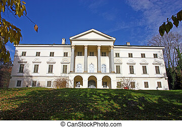 Janusevec castle, located in Prigorje Brdovecko, near Zagreb...