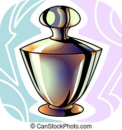 Body care - Illustration of a body lotion