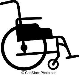 Wheelchair, sahde picture