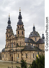 Fulda cathedral, Germany - Fulda cathedral constitutes the...