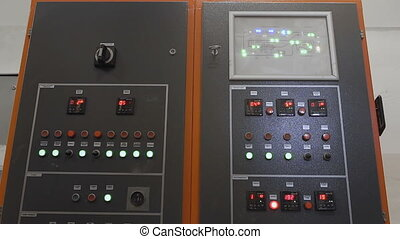 electrical cabinet with fuseboard equipment - electrical...