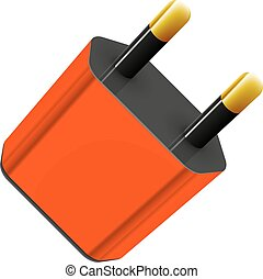 mobile charger vector abstract vector illustration isolated...