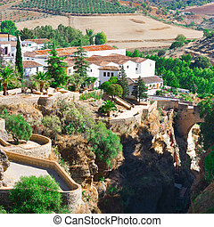 City of Ronda - Medieval Spanish City of Ronda