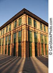 Building shadows - Plaza Cisneros, also called Plaza de la...