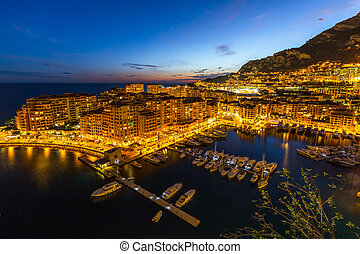 Fontvieille Monaco Harbor