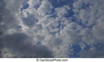 Sky clouds horizon