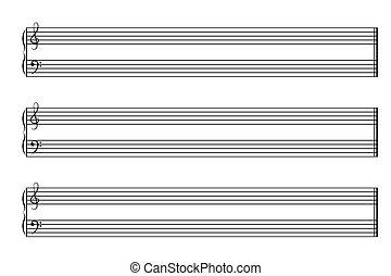 Music notebook horizontal - Sheet music books horizontal...