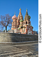 St Basils Basilica - the world cultural heritage of UNESCO...