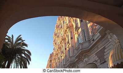 Luxury hotel Inter Continental Carlton in Cannes, France