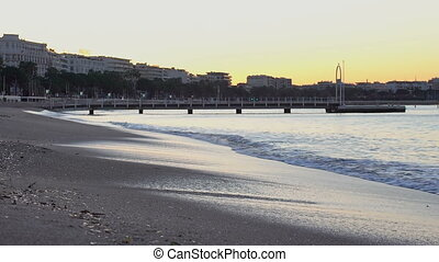 French Riviera sunrise