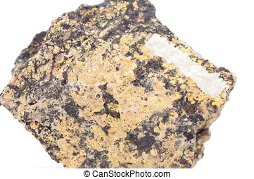 uranophane element sample - uranophane mineral element...