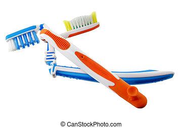Broken Toothbrushes