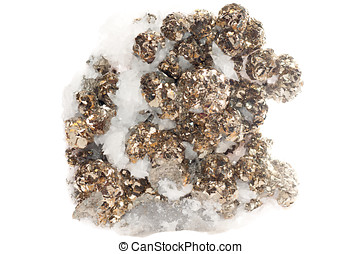 pyrite mineral sample - pyrite or fool39;s gold mineral...