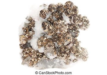pirita, mineral, muestra,