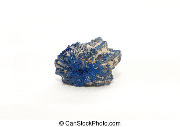 azurite mineral sample - vibrant blue azurite, found in...